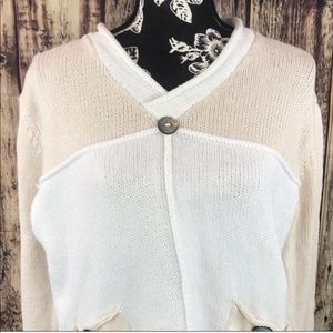 Pure cropped sweater size S/M
